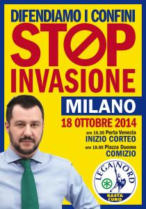 Il martello di Maslow. Anzi di Matteo Salvini: l'immigrazione.
